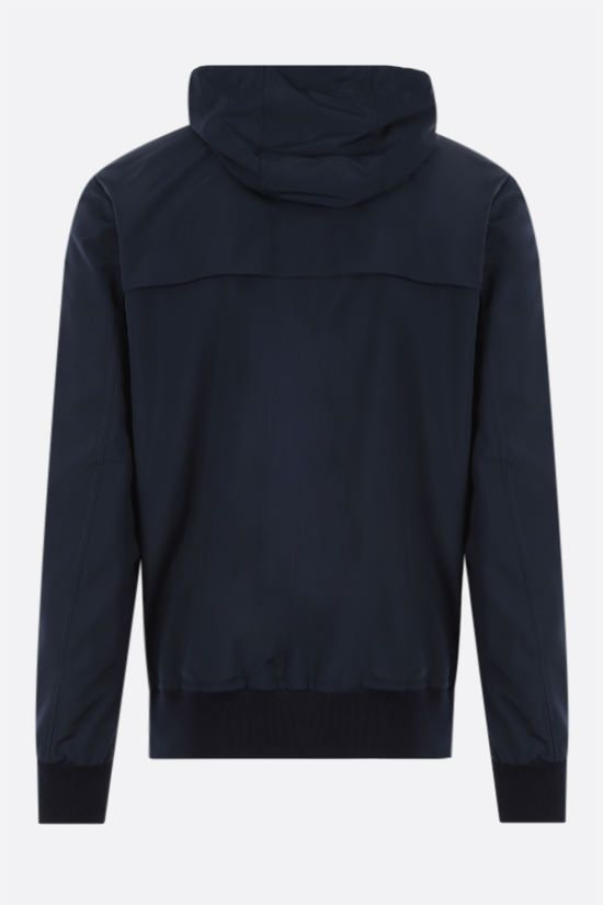 ELEVENTY: technical wool bomber jacket Color Blue_2