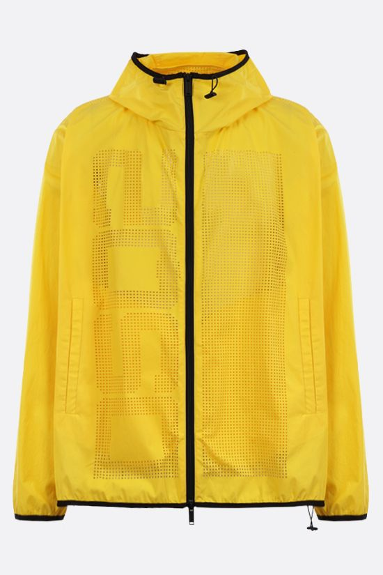 DSQUARED2: Laser DSQ2 cotton windbreaker Color Yellow_1
