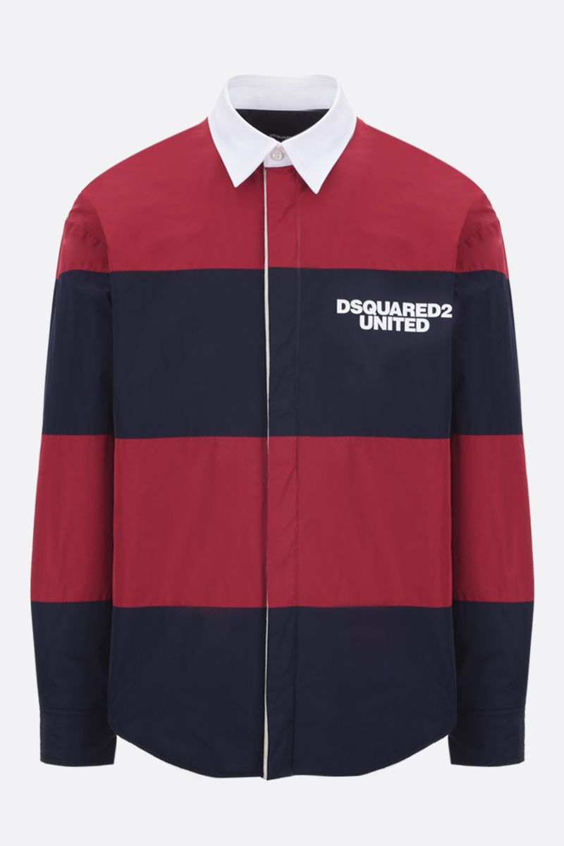 DSQUARED2: Dsquared2 United nylon overshirt Color Multicolor_1