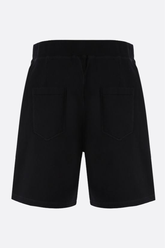 DSQUARED2: Icon Dsquared2 cotton shorts Color Black_2