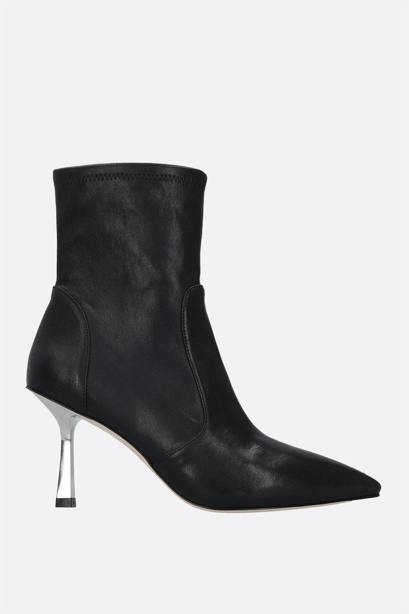 STUART WEITZMAN: Max stretch nappa ankle boots Color Black_1