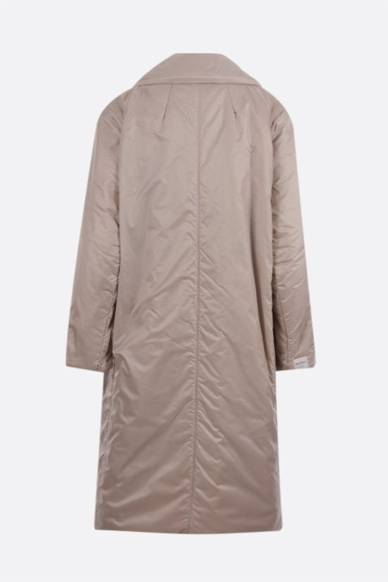 MAX MARA THE CUBE: Greenca padded nylon double-breasted coat Color Neutral_2