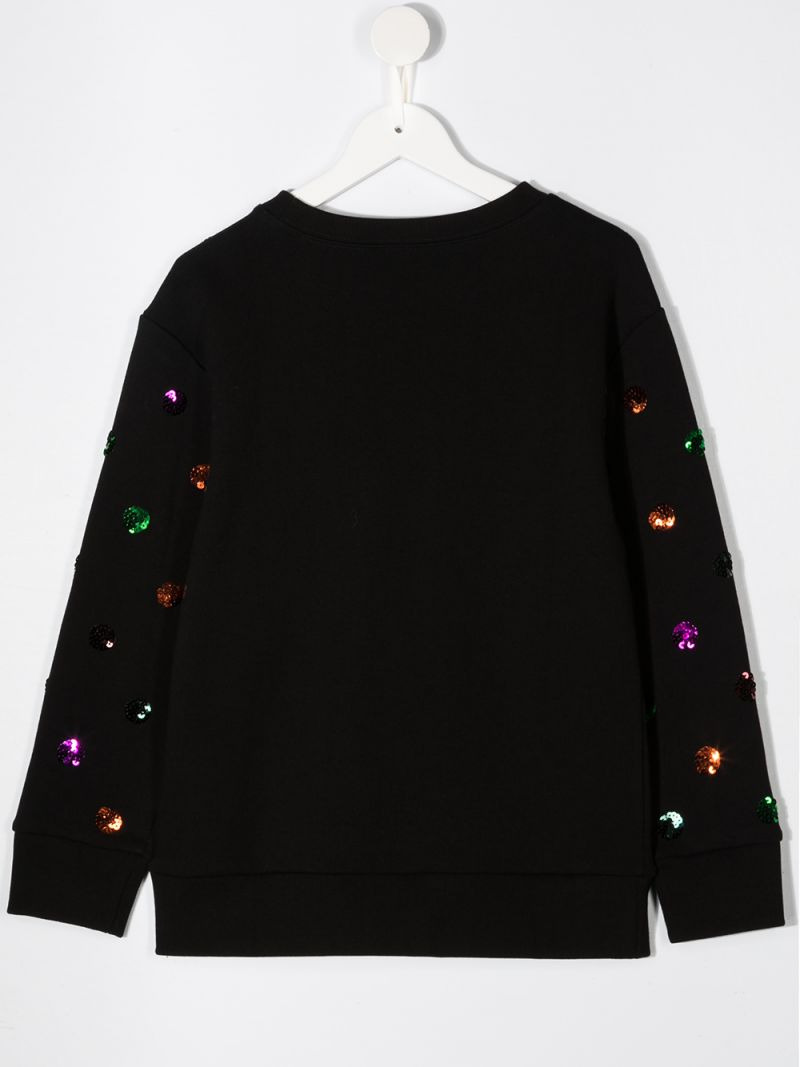 GUCCI CHILDREN: Gucci vintage print cotton sweatshirt Color Multicolor_2
