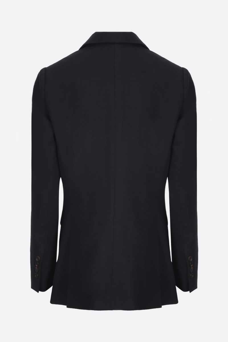 BRUNELLO CUCINELLI: monili-detailed single-breasted jacket Color Black_2