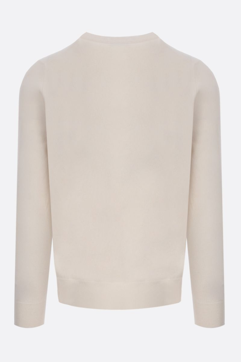 BRUNELLO CUCINELLI: pure cashmere pullover Color White_2