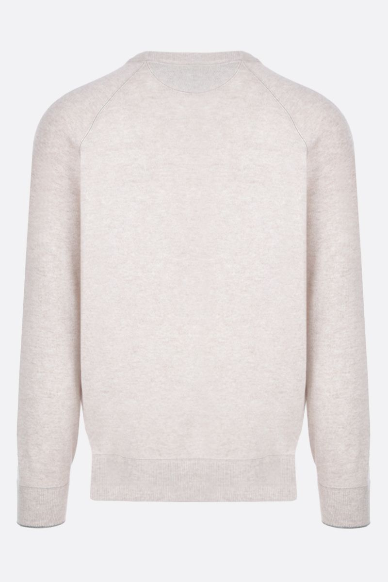 BRUNELLO CUCINELLI: pure cashmere pullover Color Neutral_3