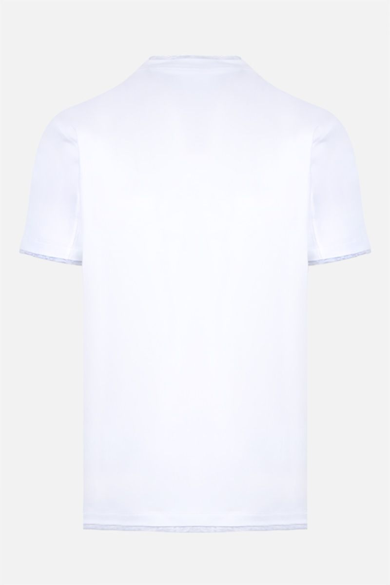 BRUNELLO CUCINELLI: slim-fit cotton t-shirt Color White_2