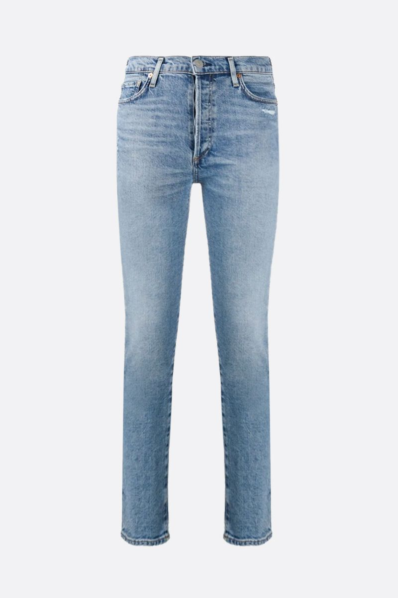 CITIZENS OF HUMANITY: Olivia cropped jeans Color Blue_1