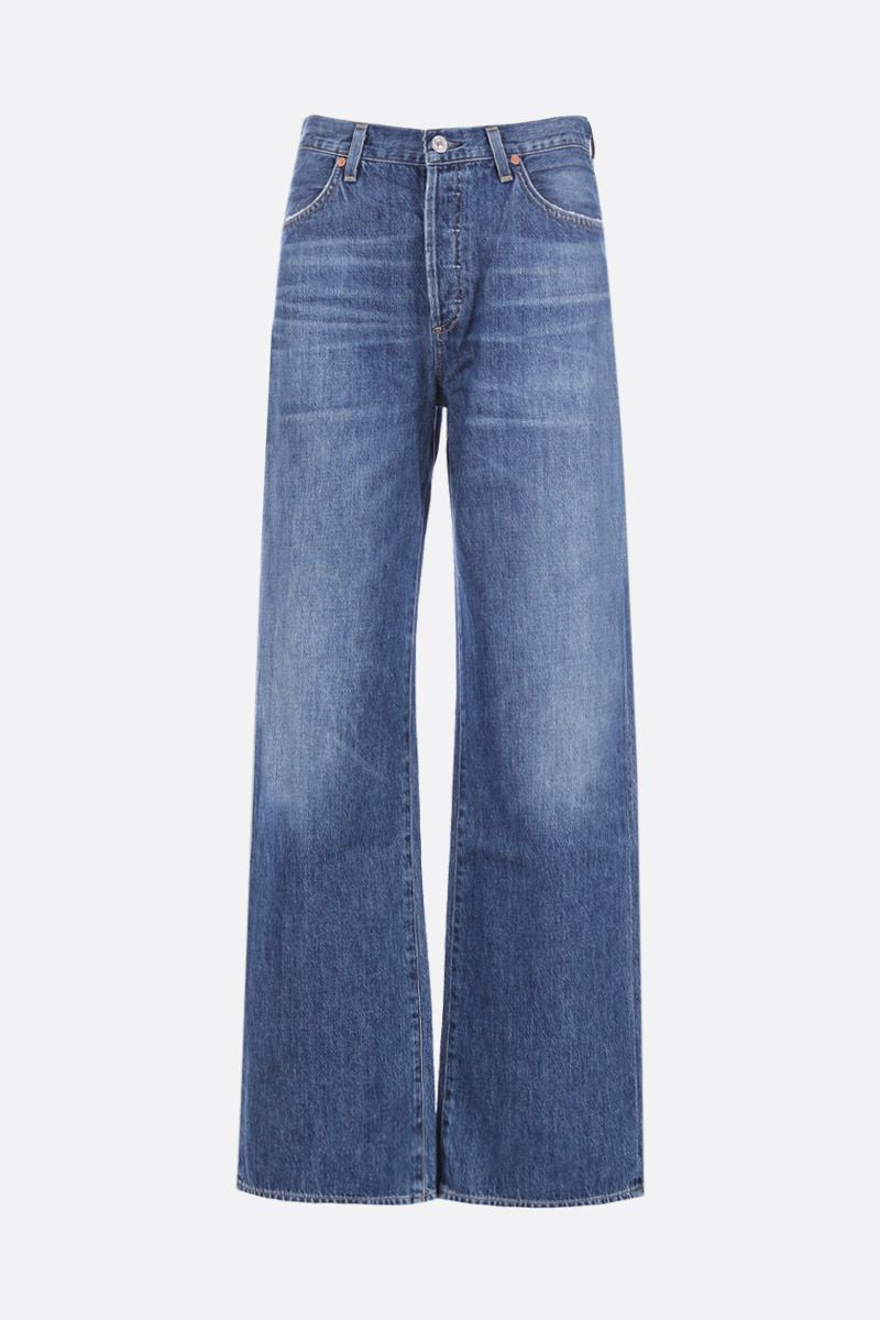 CITIZENS OF HUMANITY: Annina straight-leg jeans Color Blue_1
