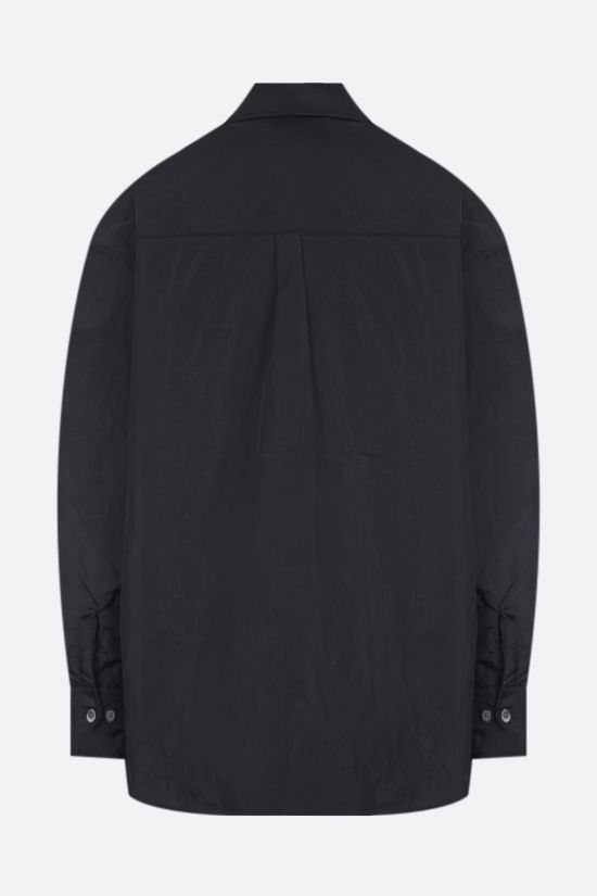 OUR LEGACY: nylon padded overshirt Color Black_2