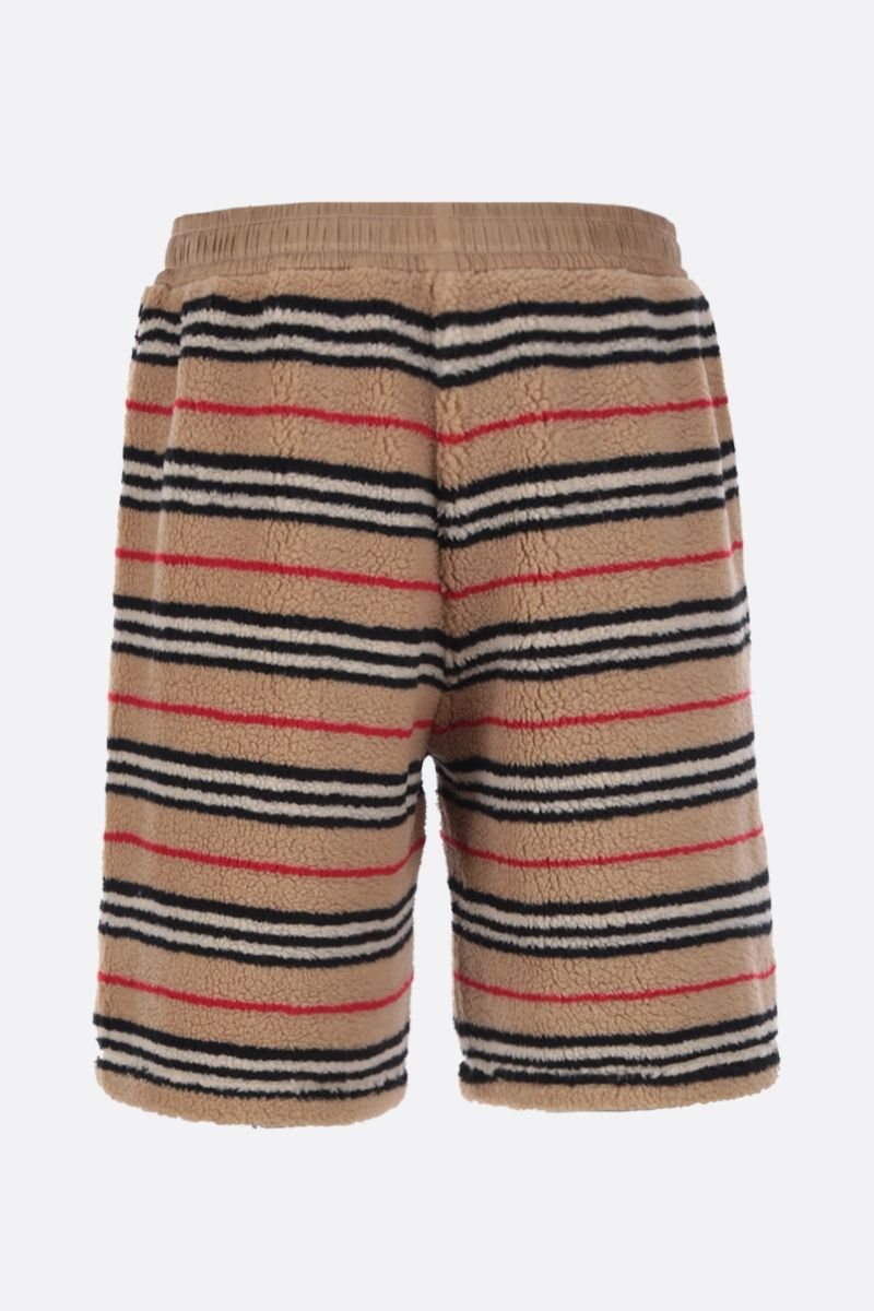 BURBERRY: Holwell shorts in tactile fleece_2