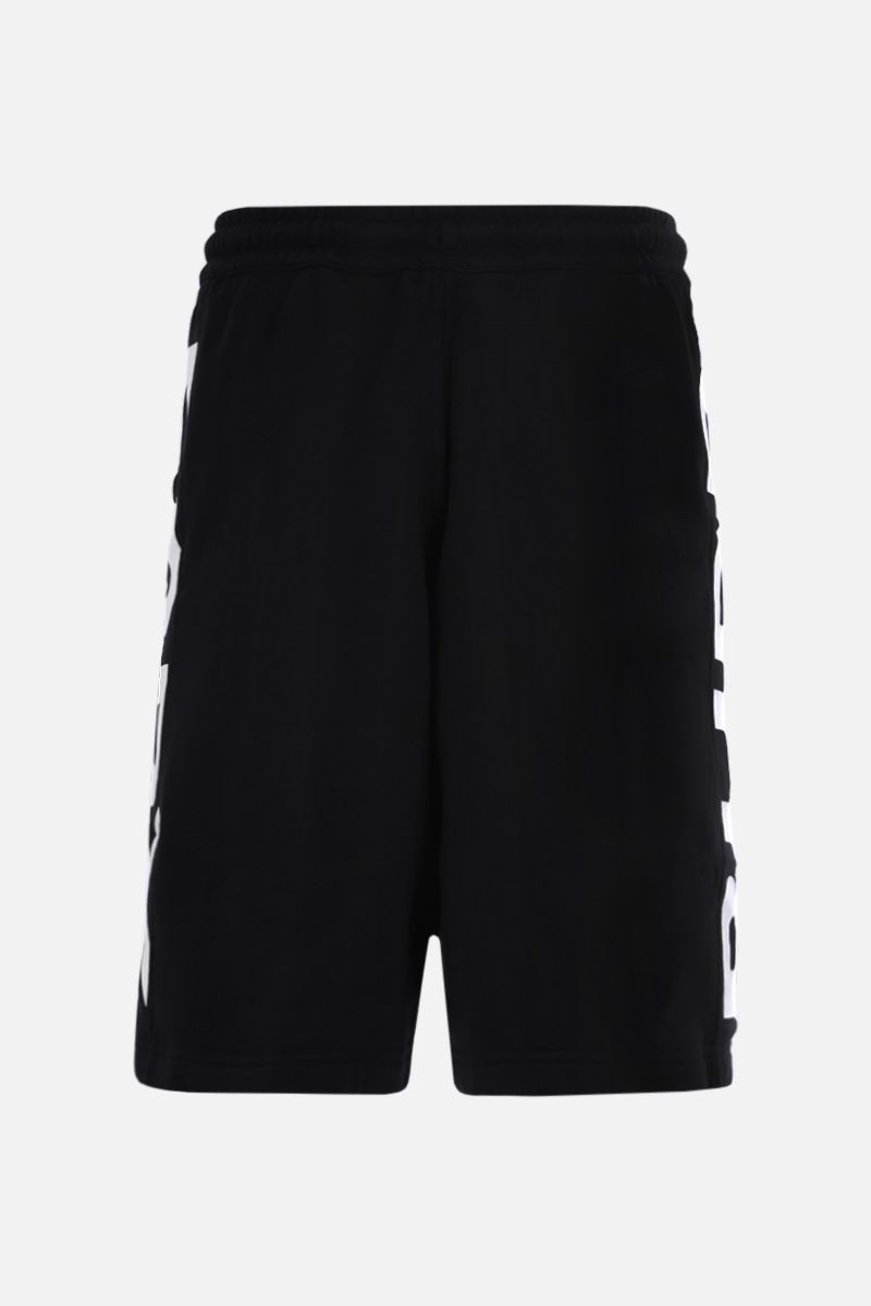 BURBERRY: Fawnley cotton shorts Color Black_2