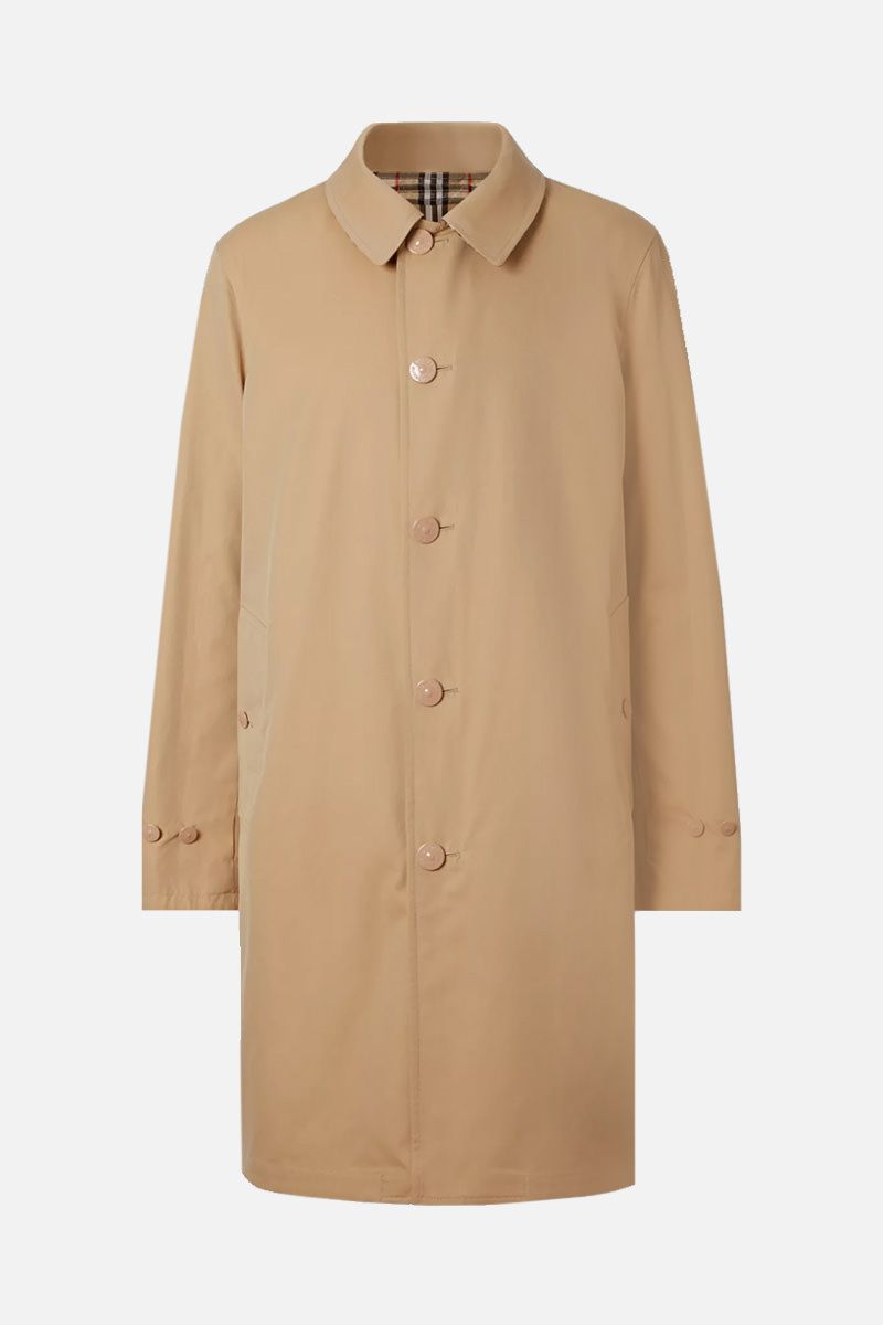 BURBERRY: gabardine and nylon reversible car coat_1