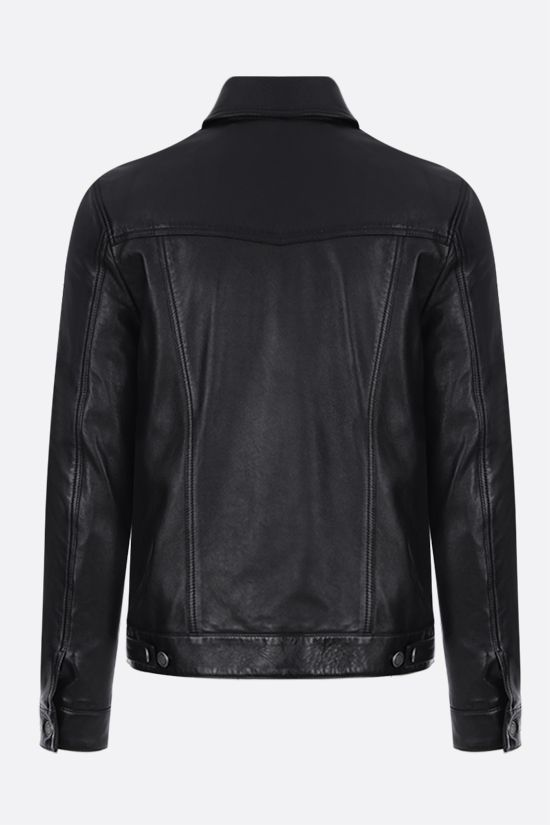 SAINT LAURENT: soft nappa leather jacket Color Black_2