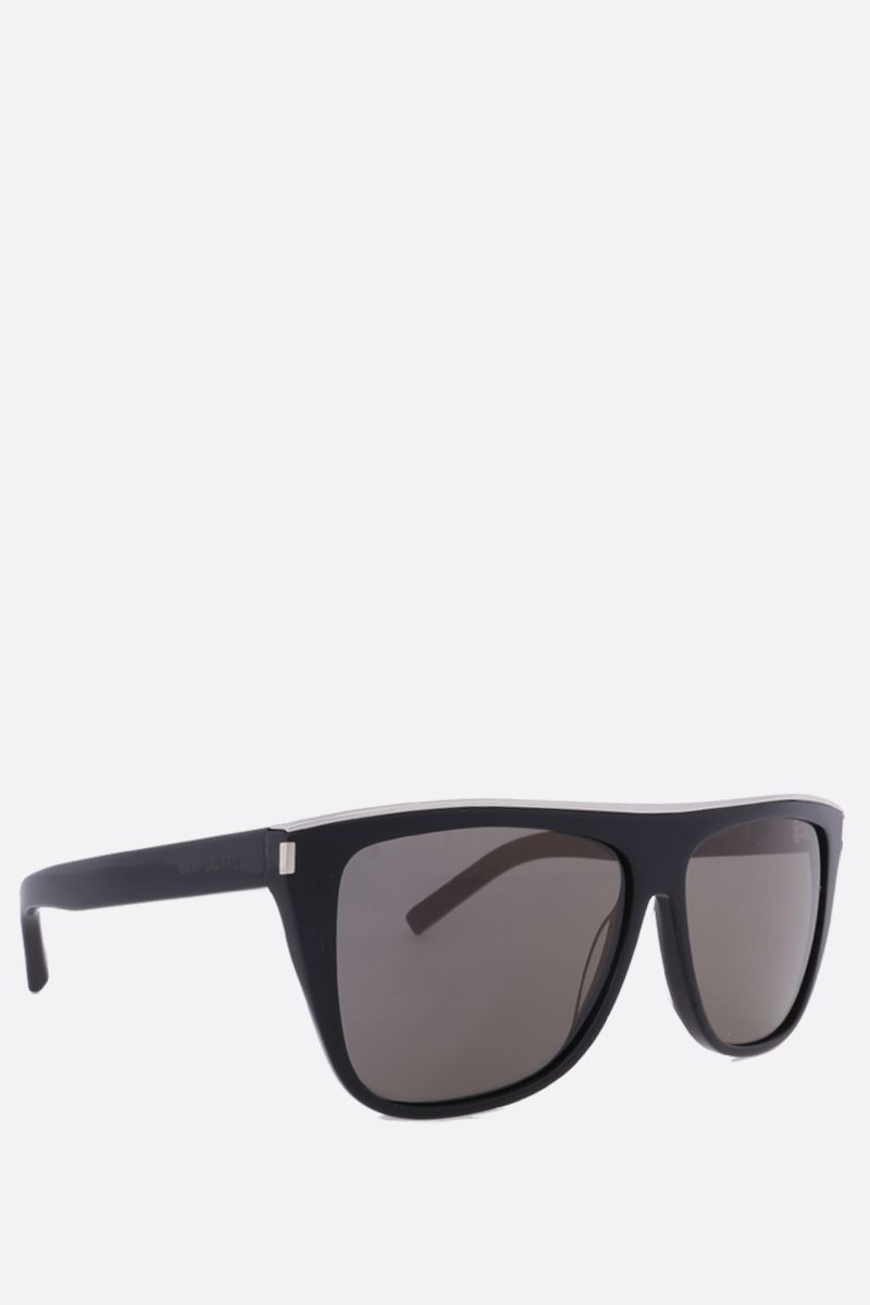SAINT LAURENT: New Wave SL 1 Combi sunglasses Color Black_2