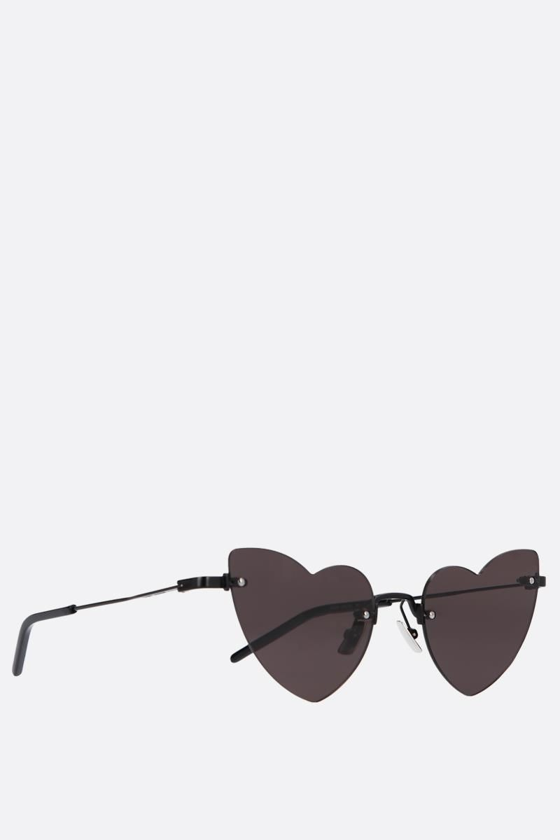 SAINT LAURENT: New Wave Loulou 254 sunglasses Color Black_2