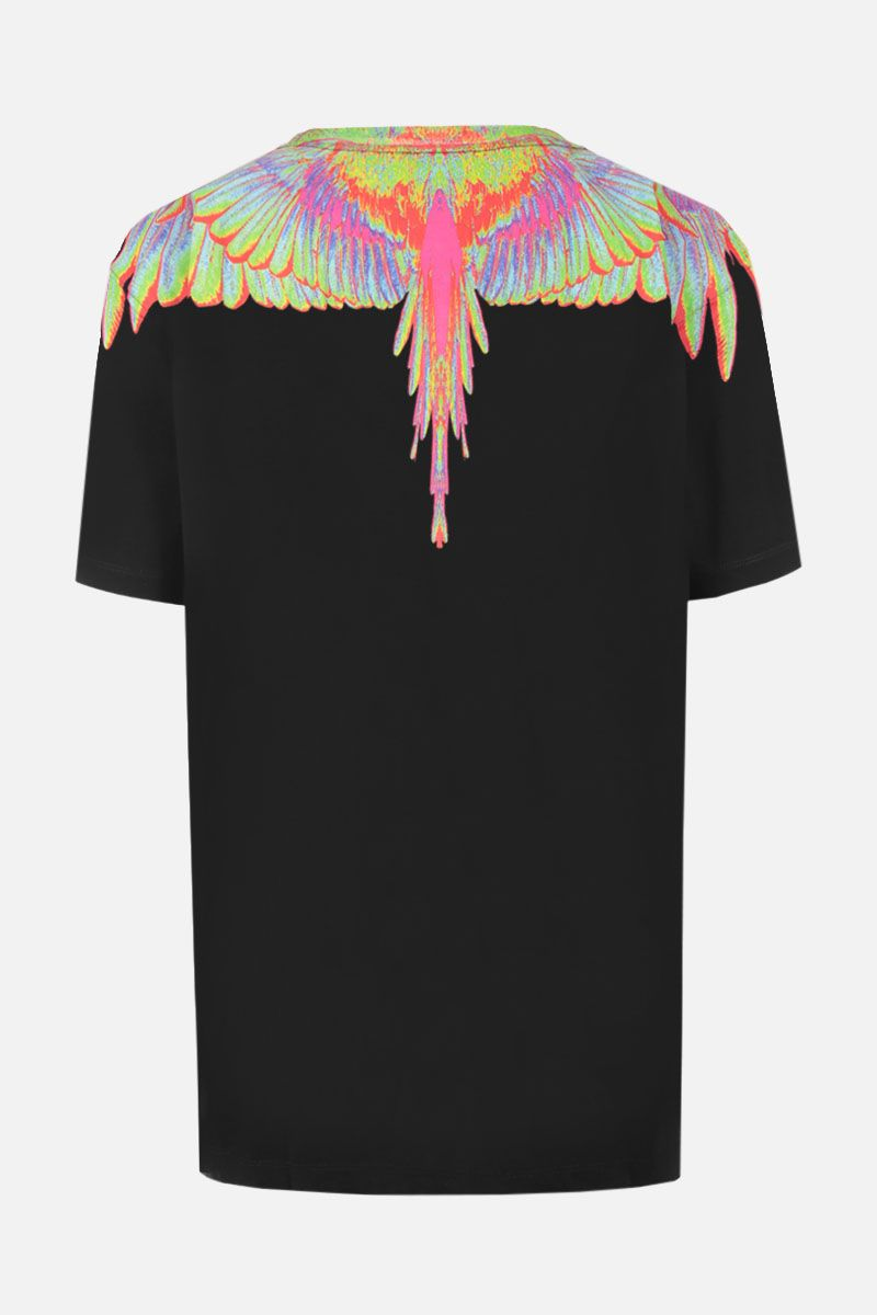 MARCELO BURLON COUNTY OF MILAN: t-shirt in jersey stampa Wings_2