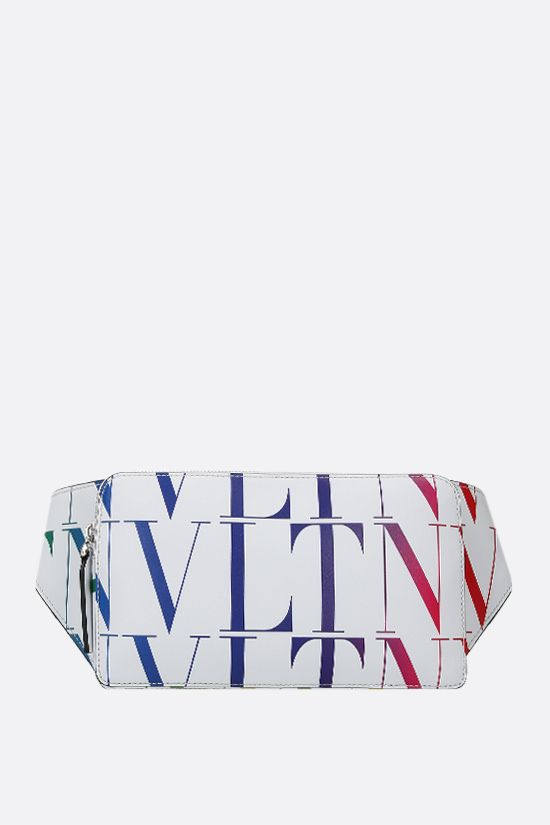 VALENTINO GARAVANI: VLTN TIMES smooth leather belt bag Color Multicolor_1