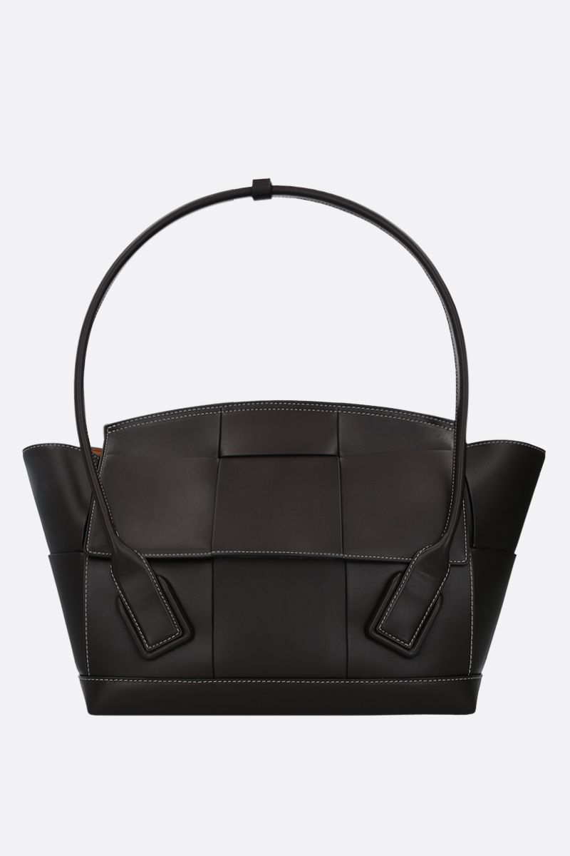 BOTTEGA VENETA: Arco 48 tote bag in Maxi Intrecciato_1