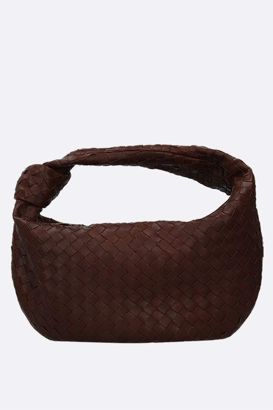 BOTTEGA VENETA: BV Jodie medium shoulder bag in Intrecciato nappa Color Brown_1