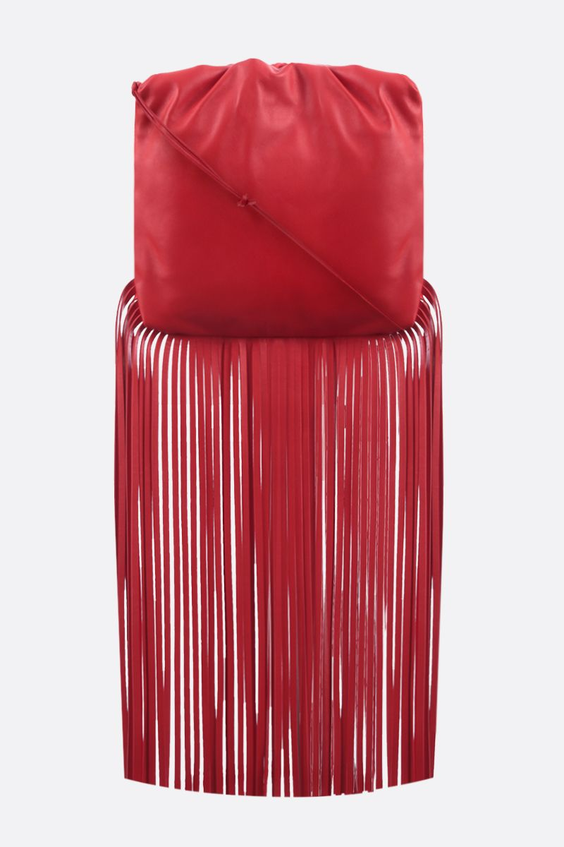BOTTEGA VENETA: The Fringe Pouch smooth leather shoulder bag_1