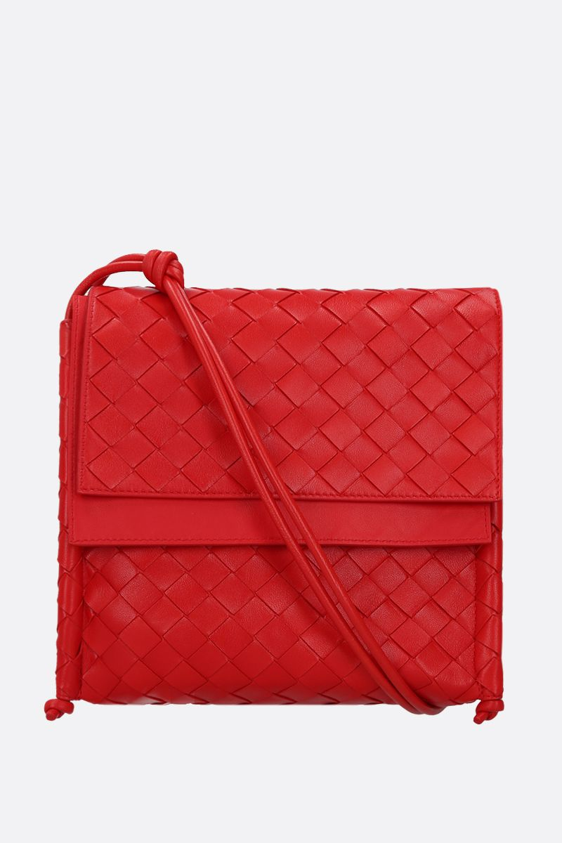 BOTTEGA VENETA: BV Fold small crossbody bag in Intrecciato nappa_1