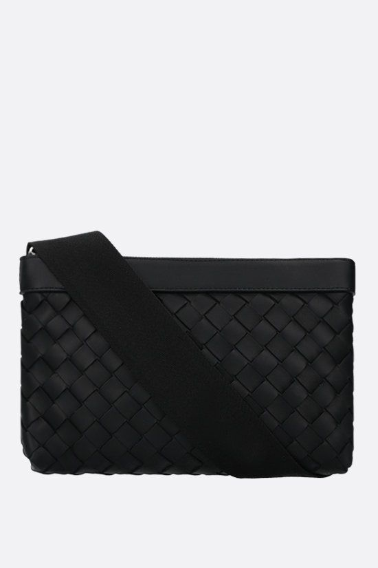 BOTTEGA VENETA: Intrecciato Hidrology shoulder bag Color Black_1