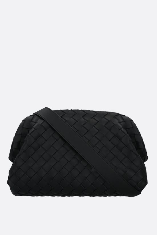 BOTTEGA VENETA: Intrecciato Hidrology crossbody bag Color Black_1