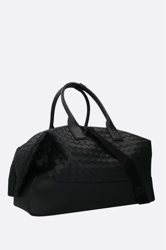BOTTEGA VENETA: Intrecciato VN travel bag Color Black_2