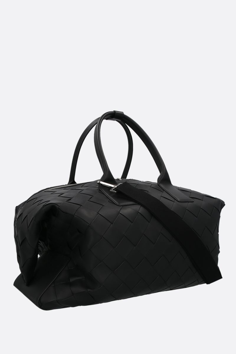 BOTTEGA VENETA: Intrecciato VN duffle bag Color Black_2
