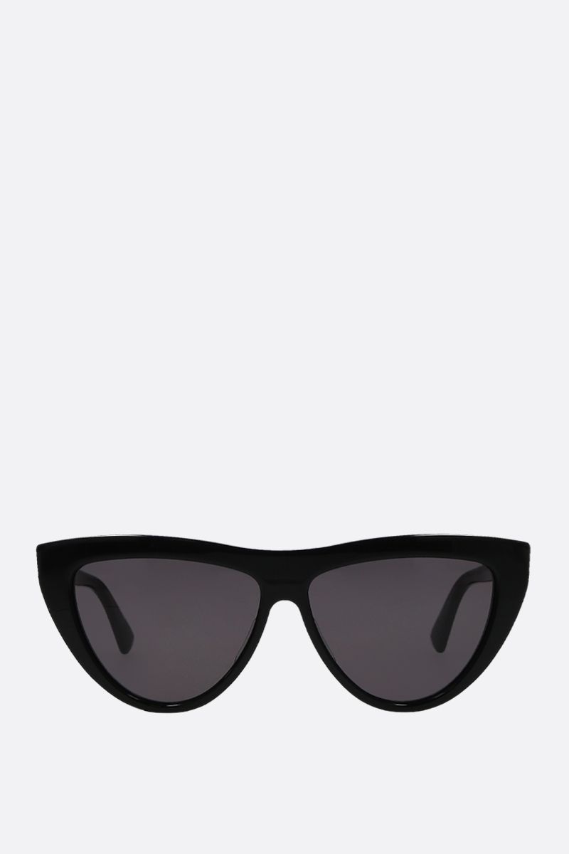 BOTTEGA VENETA: teardrop-frame acetate sunglasses_1