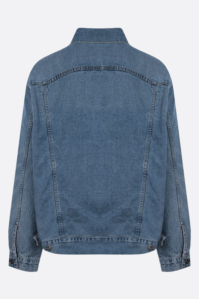 LEVI'S MADE & CRAFTED: oversize denim jacket Color Blue_2