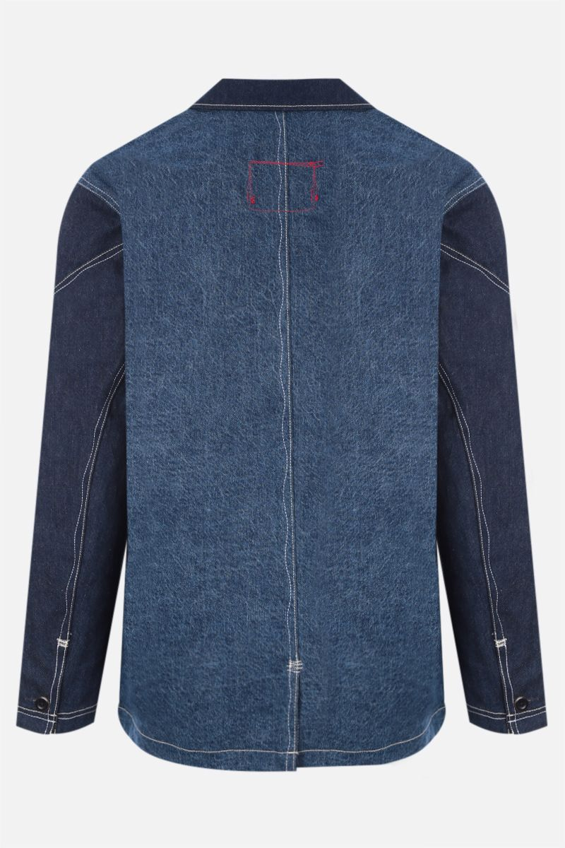 LEVI'S MADE & CRAFTED: giacca-camicia Levi's® Red in denim Colore Blue_2