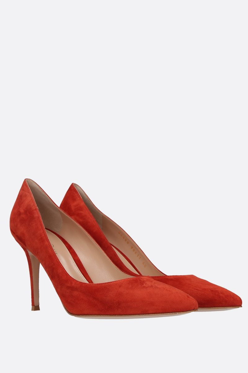GIANVITO ROSSI: Gianvito suede pumps_2