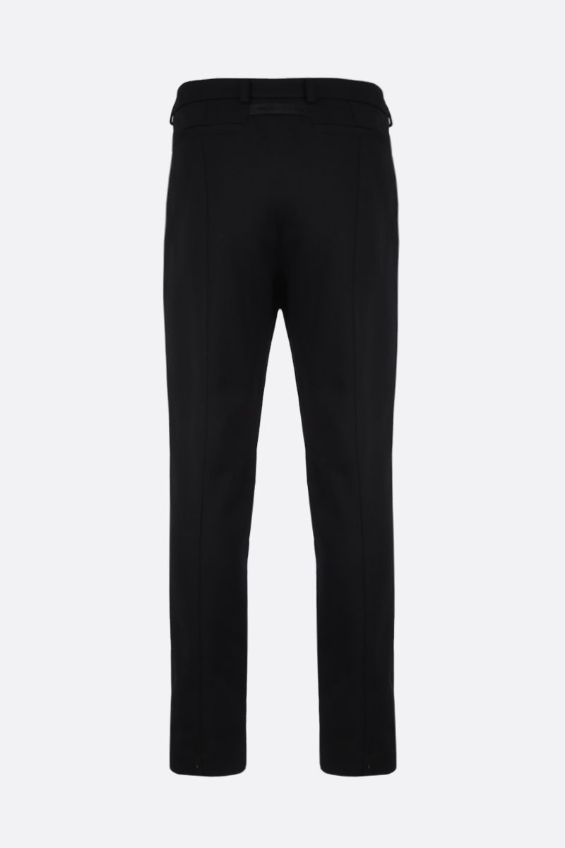 1017 ALYX 9SM: Rollercoaster buckle-detailed wool blend pants Color Black_2