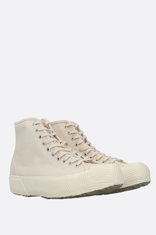 SUPERGA X ARTIFACT: Artifact by Superga canvas high-top sneakers Color White_2
