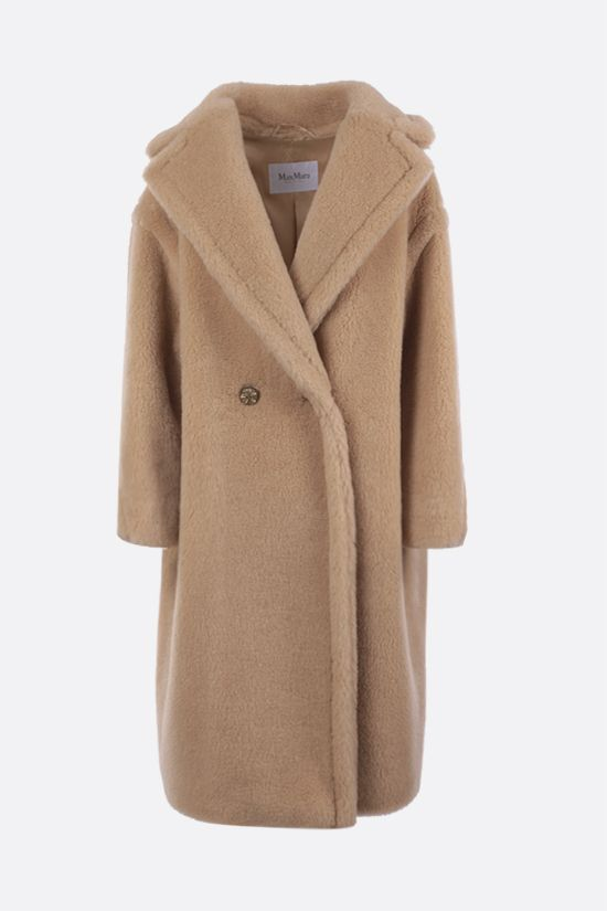 MAX MARA: Ted double-breasted fur coat Color Neutral_1