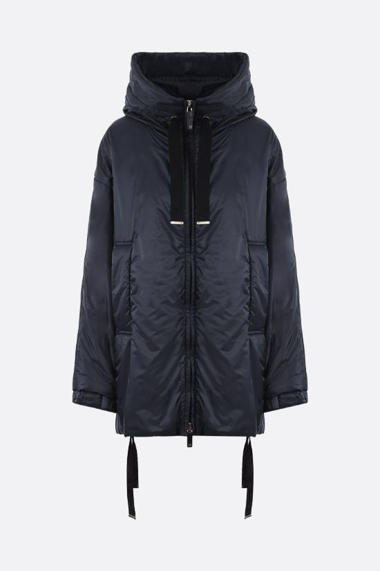 MAX MARA THE CUBE: Greenfe nylon down jacket Color Blue_1