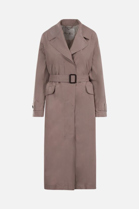 MAX MARA THE CUBE: Eimper taffetà single-breasted trench coat Color Pink_1