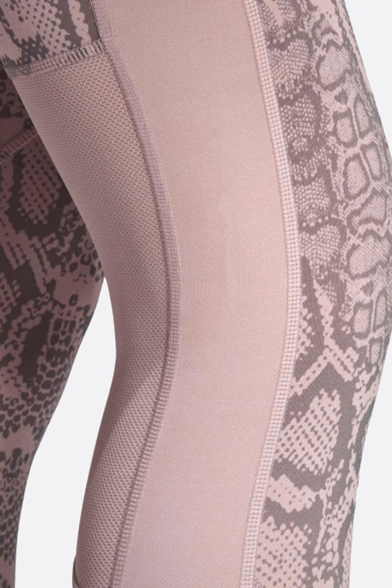 ADIDAS BY STELLA McCARTNEY: Primeblue technical jersey training leggings Color Pink_3