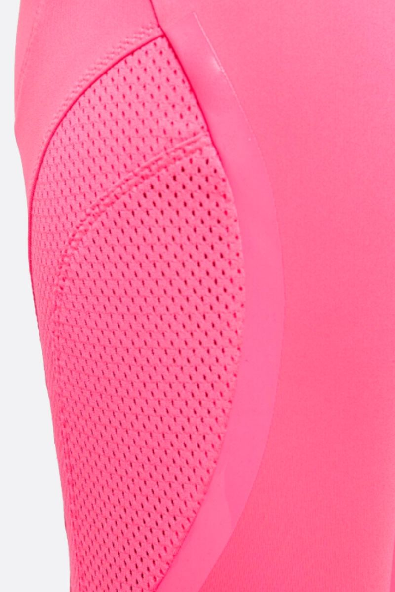 ADIDAS BY STELLA McCARTNEY: Essentials three-quarter tight in technical fabric Color Pink_3