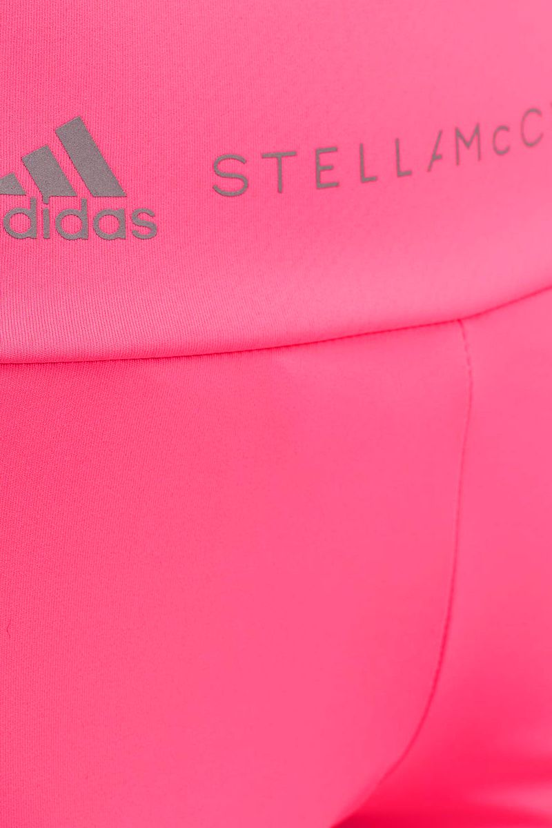 ADIDAS BY STELLA McCARTNEY: Essentials three-quarter tight in technical fabric Color Pink_4