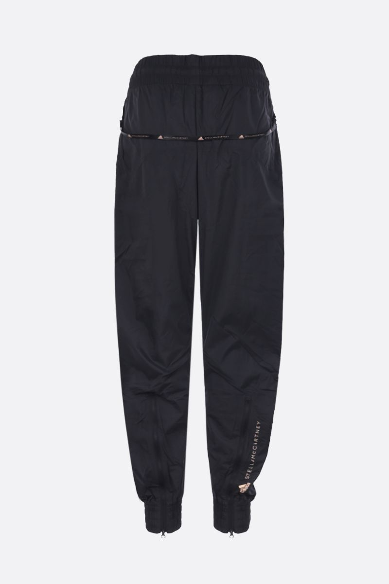 ADIDAS BY STELLA McCARTNEY: Woven nylon joggers Color Black_2
