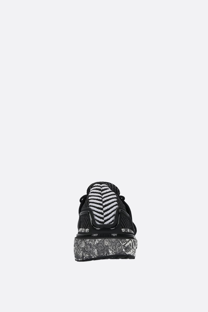 ADIDAS BY STELLA McCARTNEY: UltraBOOST 20.S. sneakers in stretch knit Color Black_3