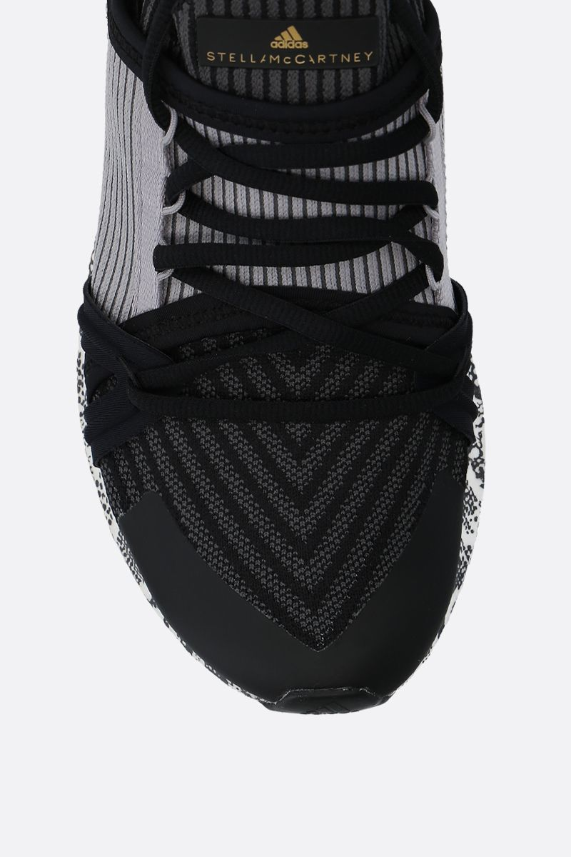 ADIDAS BY STELLA McCARTNEY: UltraBOOST 20.S. sneakers in stretch knit Color Black_4