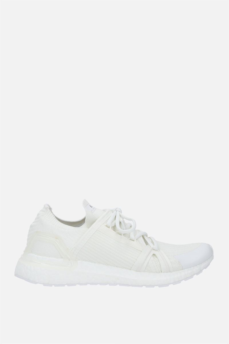 ADIDAS BY STELLA McCARTNEY: Ultraboost 20 No Dye sneakers in Primeblue fabric Color White_1