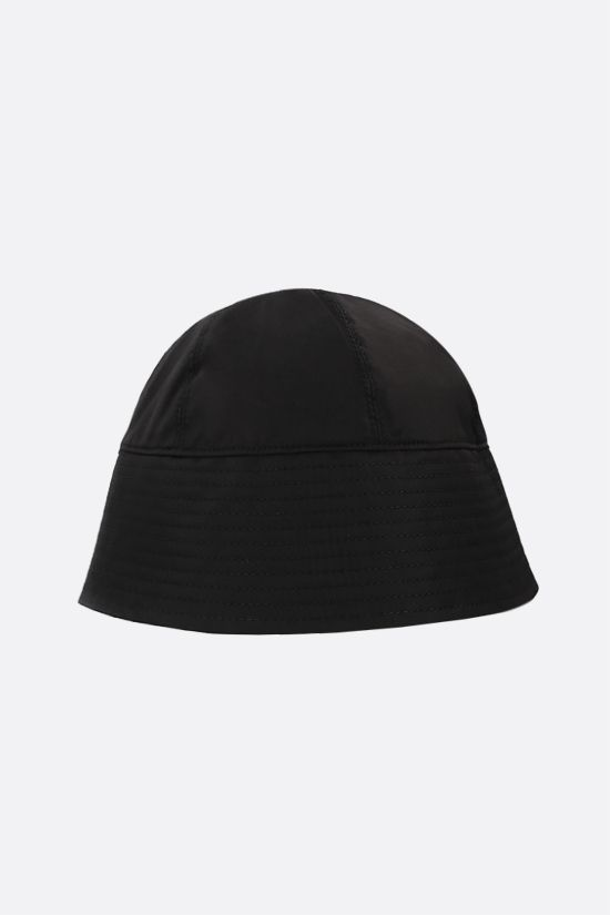 1017 ALYX 9SM: Rollercoaster-buckle nylon bucket hat Color Black_2