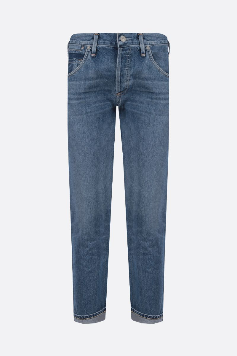 CITIZENS OF HUMANITY: Emerson boyfriend jeans Color Blue_1