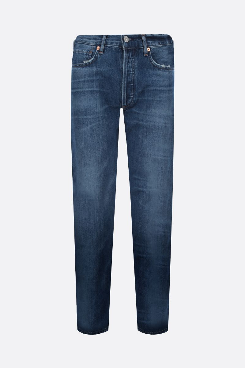 CITIZENS OF HUMANITY: Charlotte straight-fit jeans Color Blue_1